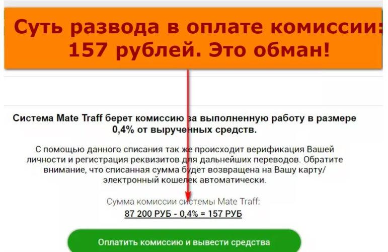 Mate Traff. Как заработать на домашнем интернете ежедневно 25 тысяч рублей