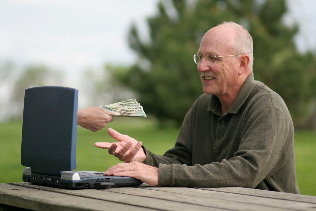 Денежное Трио заработок для пенсионеров