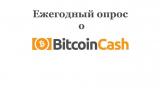 Bitcoin Cash  –  ежегодный денежный опрос